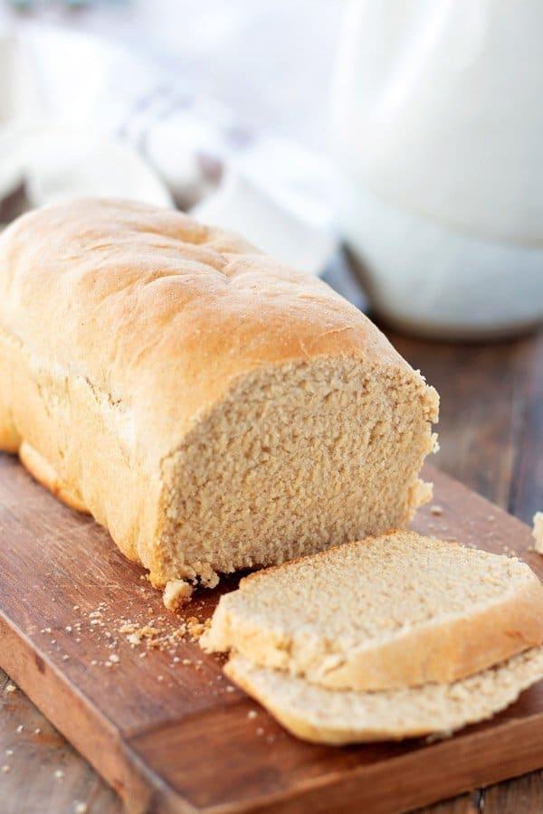 Pan de molde de harina integral